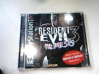 SONY Sony PlayStation Game RESIDENT EVIL 3 NEMESIS