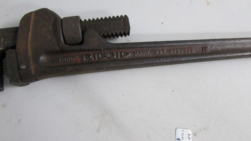 """RIDGID TOOLS Miscellaneous Tool 18"""" PIPE WRENCH"""
