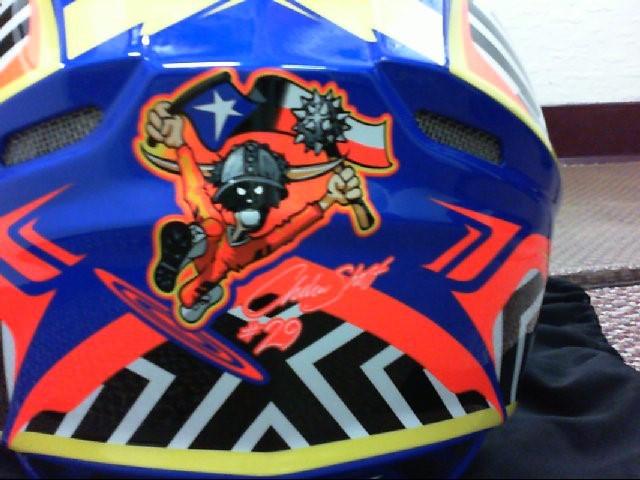 Fly Racing Multicolor Andrew Short Motorcycle Helmet