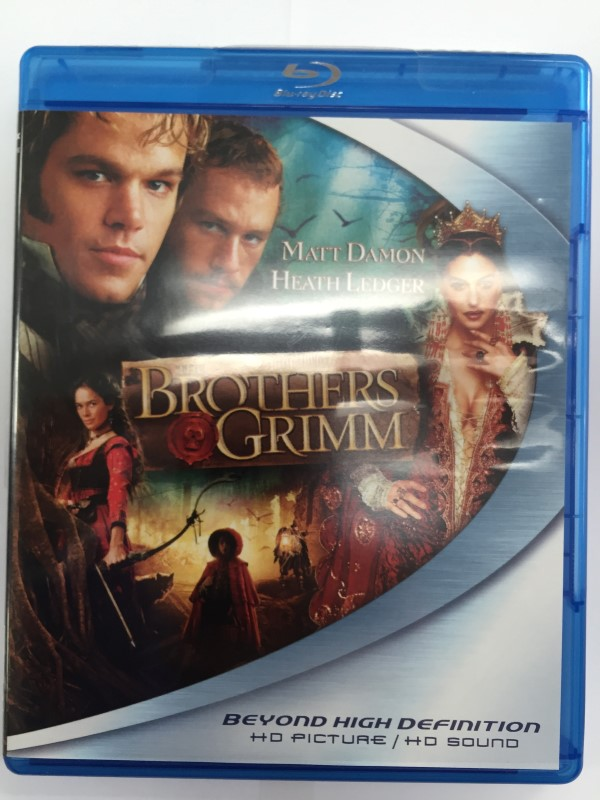 THE BROTHERS GRIMM, SCI-FY BLU-RAY DVD, GOOD CONDITION,
