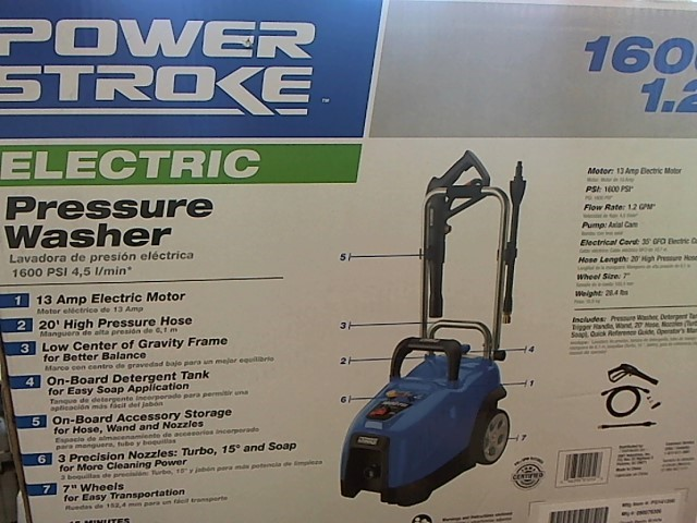 POWERSTROKE PS14120B ELECTRIC POWER WASHER