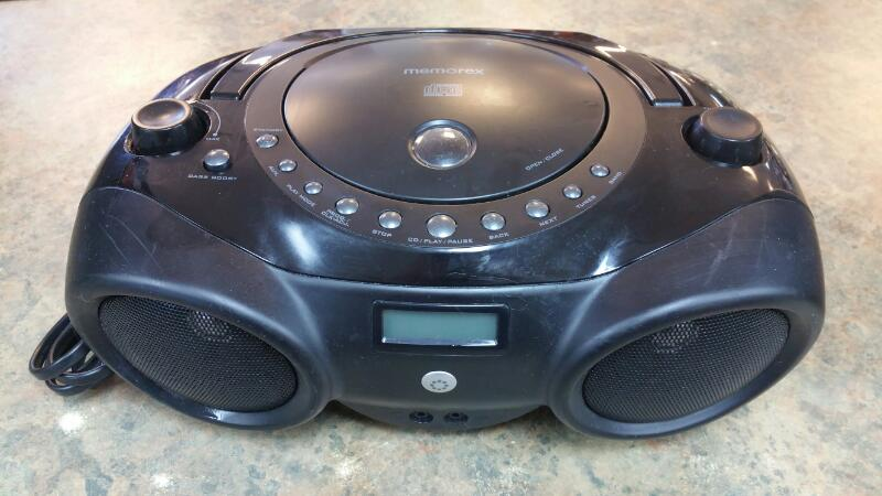 MEMOREX Boom Box MP3851BLK