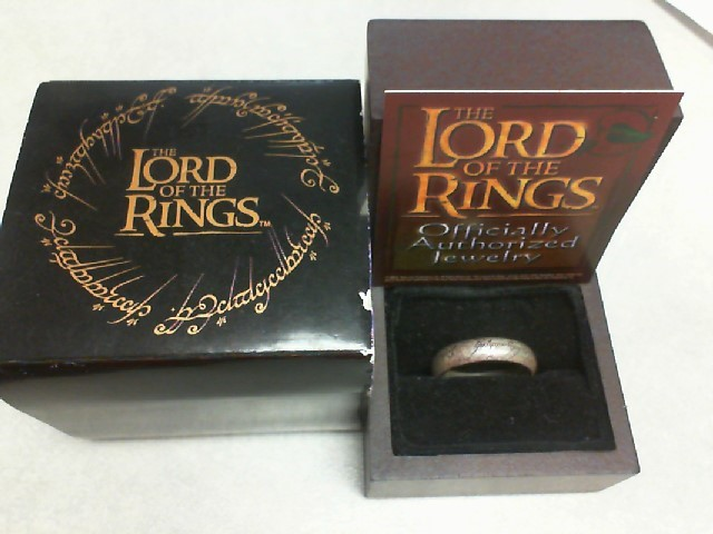THE NOBLE COLLECTION LORD OF THE RINGS RING