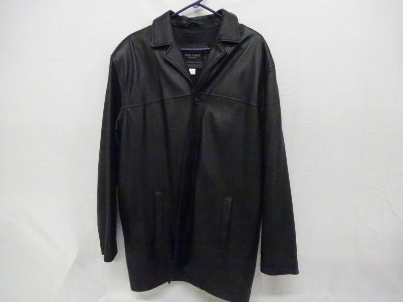 ALDO CONTI Coat/Jacket LEATHER JACKET