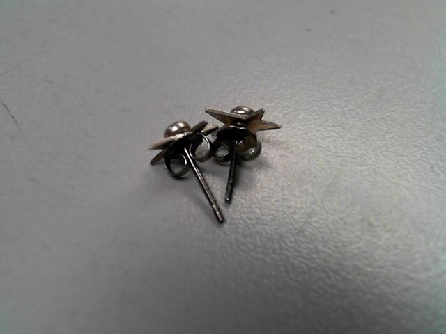 Silver Earrings 925 Silver 0.6g
