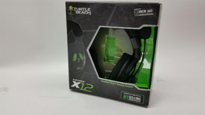 TURTLE BEACH Video Game Accessory EARFORCE X12