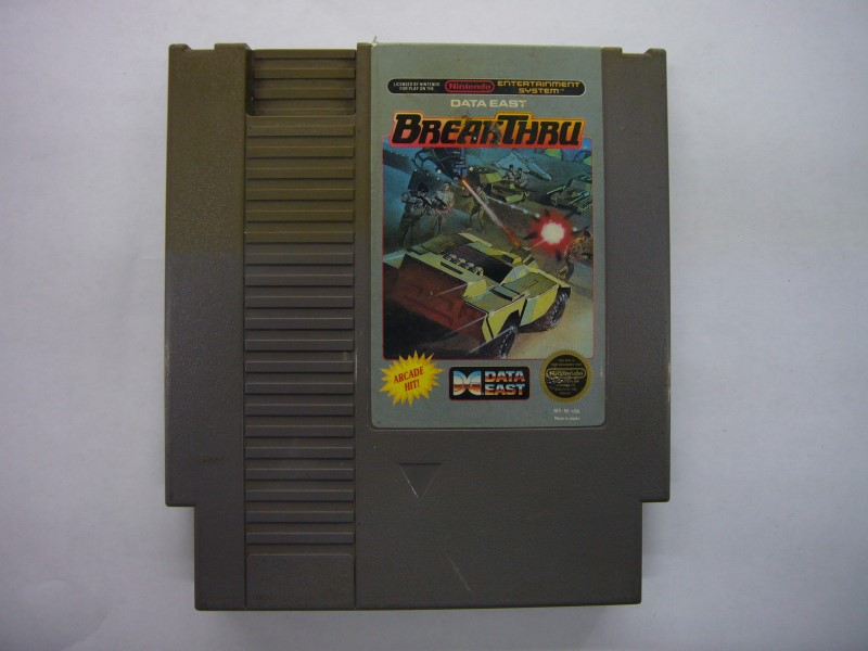 NINTENDO NES Game BREAKTHRU *CARTRIDGE ONLY*