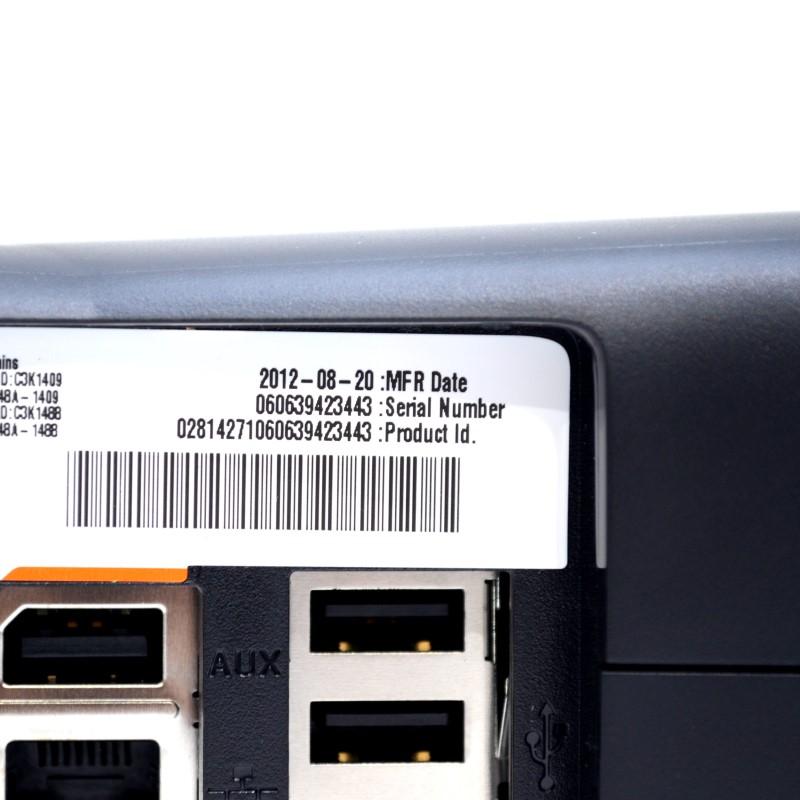 Microsoft Xbox 360 4GB S Console Model 1439 Black Matte *Mint in Box*