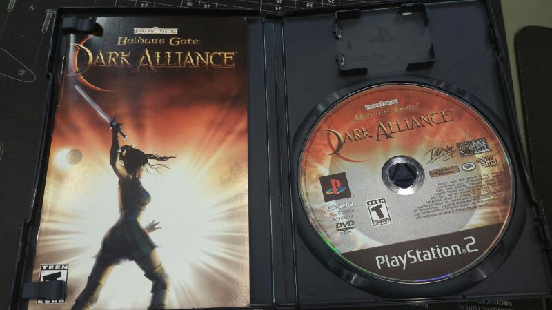 SONY Sony PlayStation 2 Game PS2 BALDERS GATE DARK ALLIANCE