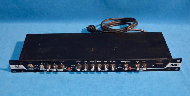 BBE SOUND 381 GUITAR PREAMP RACK GEAR