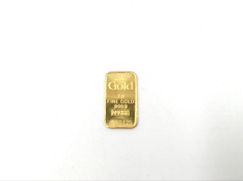 NADIR GOLD 1G 999.9 PURE GOLD BAR SERIAL NO. K088425