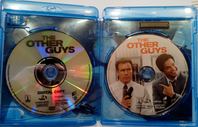 BLU-RAY MOVIE THE OTHER GUYS