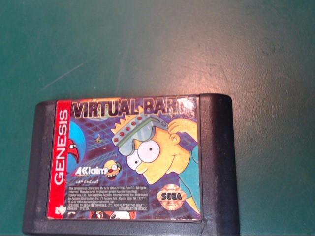 SEGA Sega Game VIRTUAL BART
