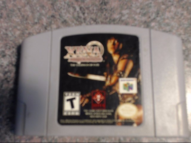 NINTENDO Nintendo 64 Game XENA WARRIOR PRINCESS THE TALISMAN OF FATE