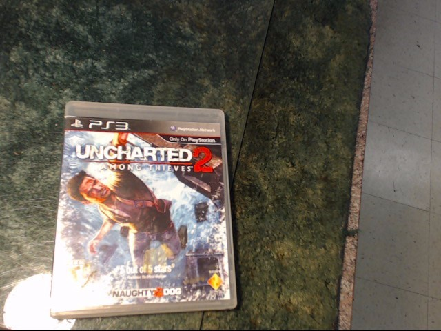 SONY Sony PlayStation 3 Game UNCHARTED 2 AMONG THIEVES GREATEST HITS