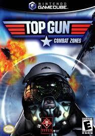 NINTENDO Nintendo GameCube Game TOP GUN COMBAT ZONES