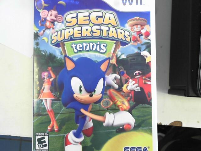 NINTENDO Nintendo Wii Game SEGA SUPERSTARS TENNIS