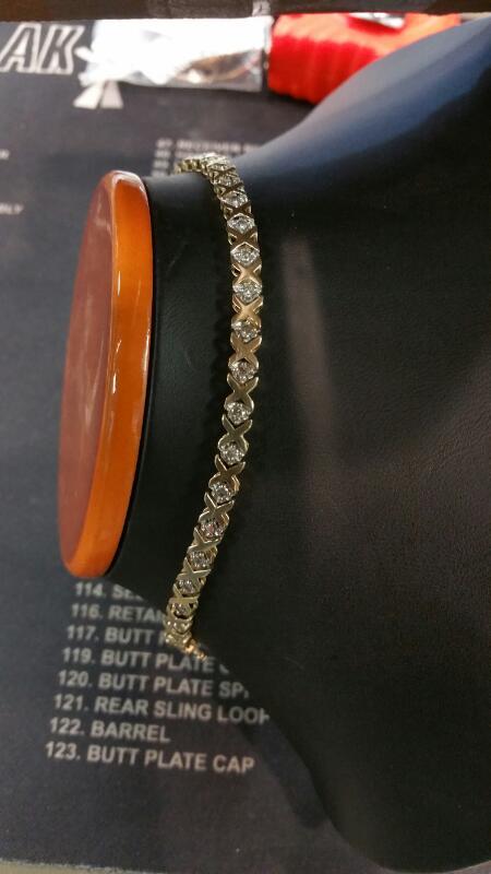 Gold Fashion Bracelet 10K Yellow Gold 4.6dwt