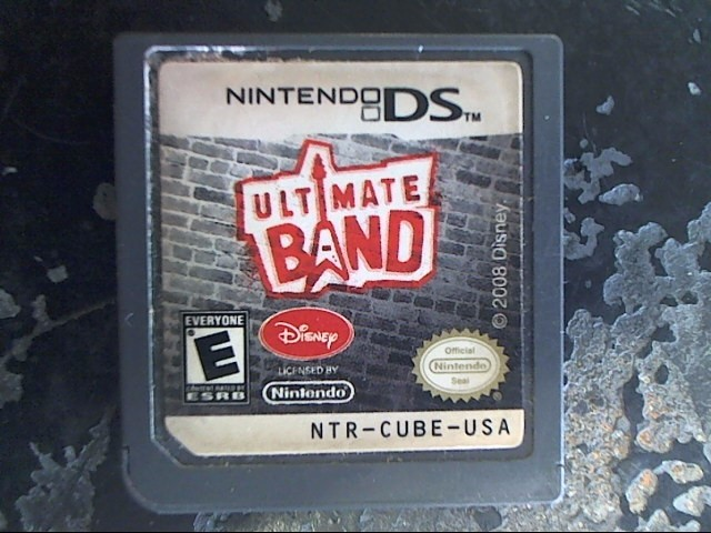 NINTENDO Nintendo DS Game ULTIMATE BAND
