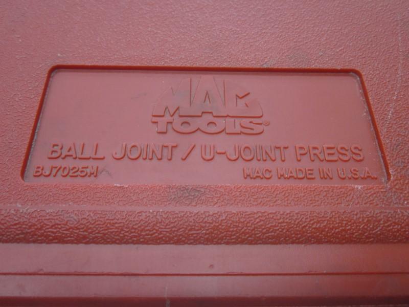 MAC TOOLS BJ7025M BALL JOINT/U JOINT PRESS