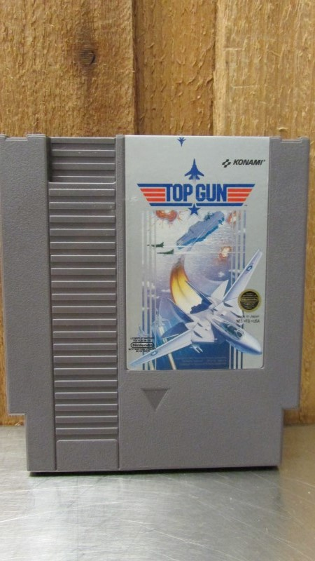 NINTENDO Nintendo NES Game TOP GUN