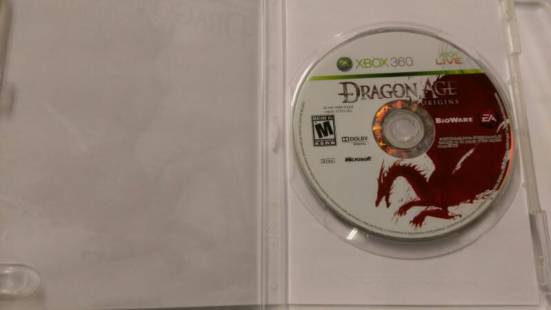 MICROSOFT XBOX 360 DRAGON AGE ORIGINS VIDEO GAME