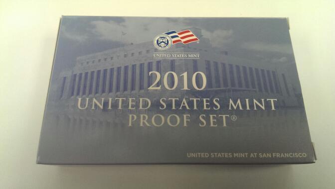 UNITED STATES 2010 UNITED STATES MINT PROOF SET
