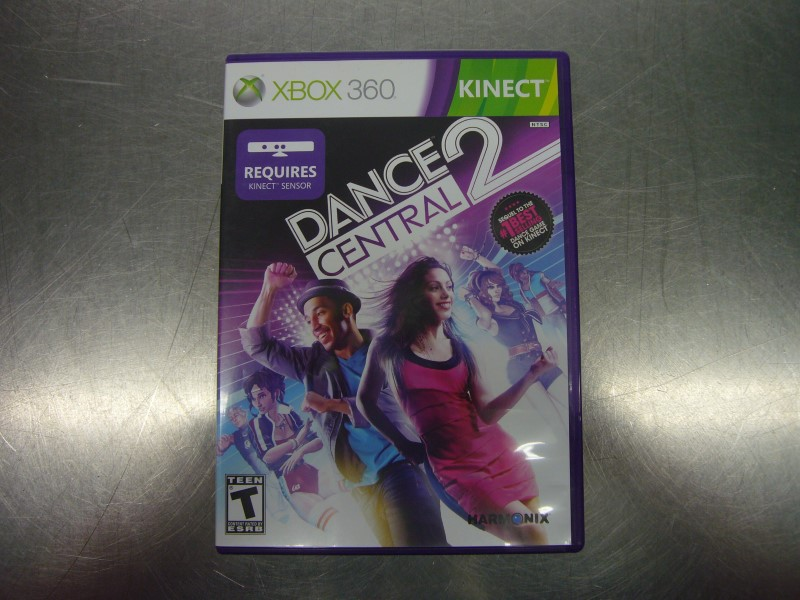 MICROSOFT XBOX 360 Game DANCE CENTRAL 2