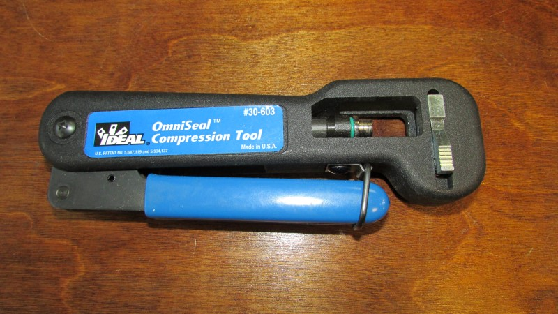 IDEAL INDUSTRIES Miscellaneous Tool 30-603 OMNISEAL COMPRESSION TOOL