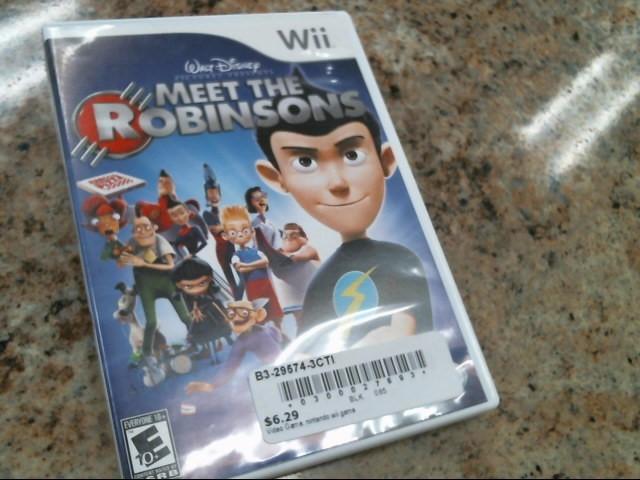 NINTENDO Nintendo Wii Game WII MEET THE ROBINSONS