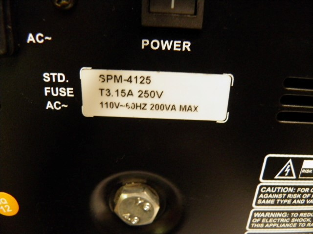 SHS AUDIO Electronic Instrument SPM-4125