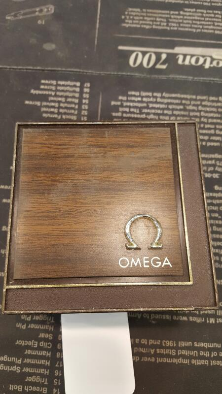 OMEGA WATCH Gent's Wristwatch AUTOMATIC GOLD WATCH