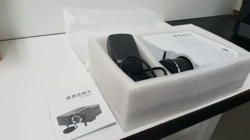 LED PROJECTOR WHITE *IN BOX* UNUSED ZC38402
