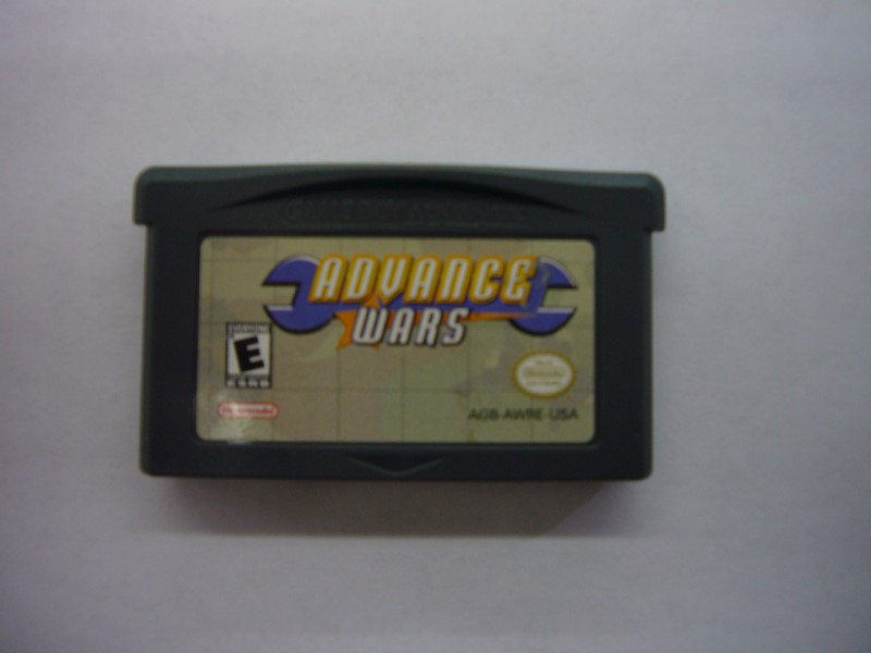 NINTENDO GBA Game ADVANCE WARS *CARTRIDGE ONLY*