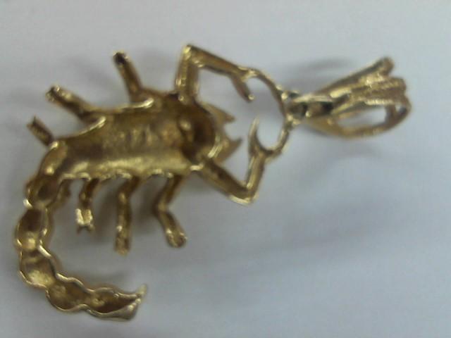 Gold Pendant 14K Yellow Gold 8g