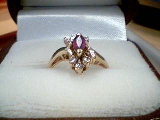 Gent's Diamond Fashion Ring 3 Diamonds .09 Carat T.W. 14K Yellow Gold 3.6g