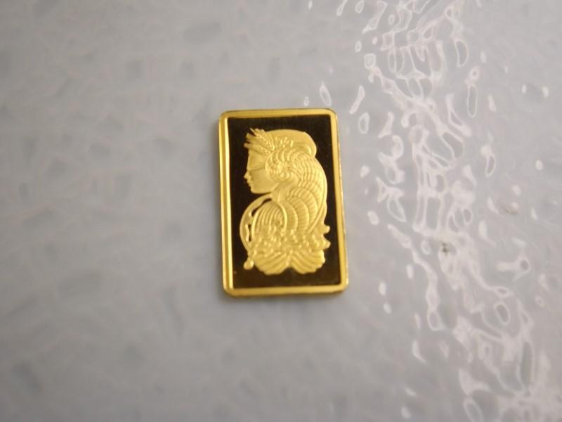 24K SUISSE FORTUNA 999.9 GOLD BAR