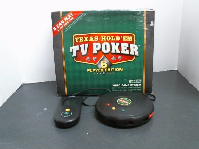 VS MAXX Video Game Accessory TEXAS HOLD EM TV POKER SET