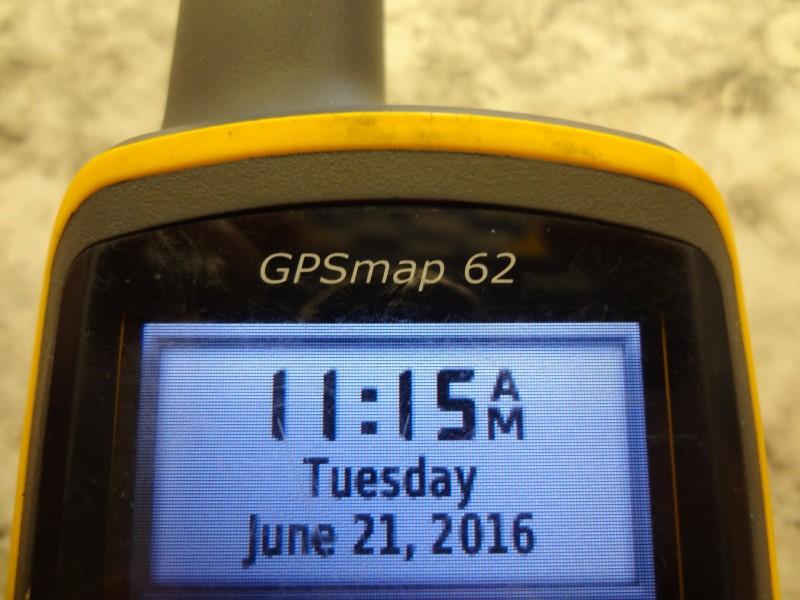 GARMIN GPSMAP 62 HANDHELD GPS NAVIGATOR  **BATTERY OPERATED**