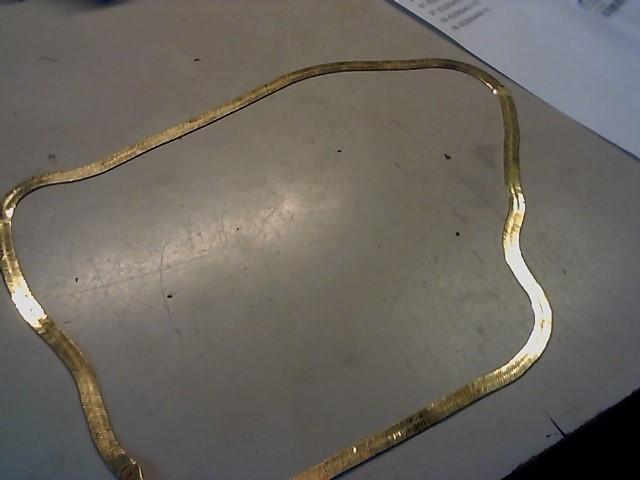 Gold Herringbone Chain 14K Yellow Gold 12.6g