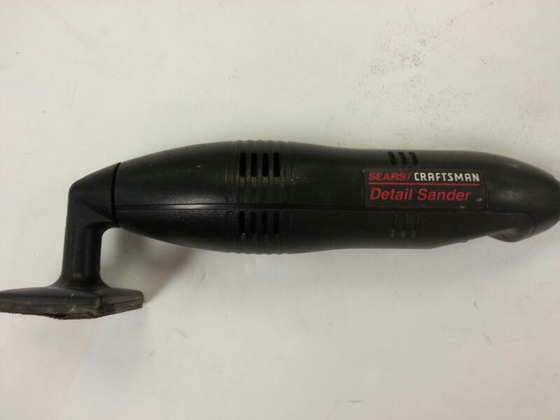 CRAFTSMAN Vibration Sander 315.116000 SANDER]