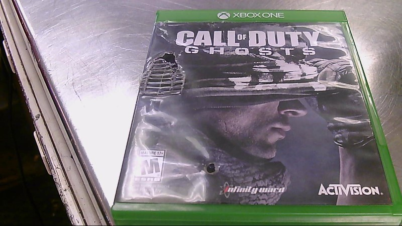 XBOX ONE GAME CALL OF DUTY GHOSTS