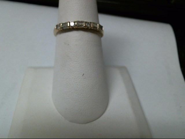 Lady's Diamond Fashion Ring 10 Diamonds .20 Carat T.W. 10K Yellow Gold 1.3g