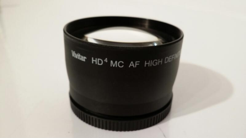 Vivitar 2.2X 58mm Telephoto Converter for Autofocus Lens HD4 MC AF ]