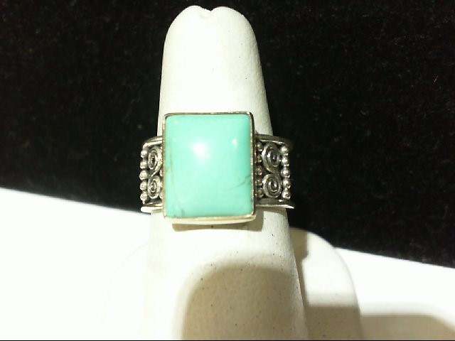 Lady's Silver Ring 925 Silver 5.7g