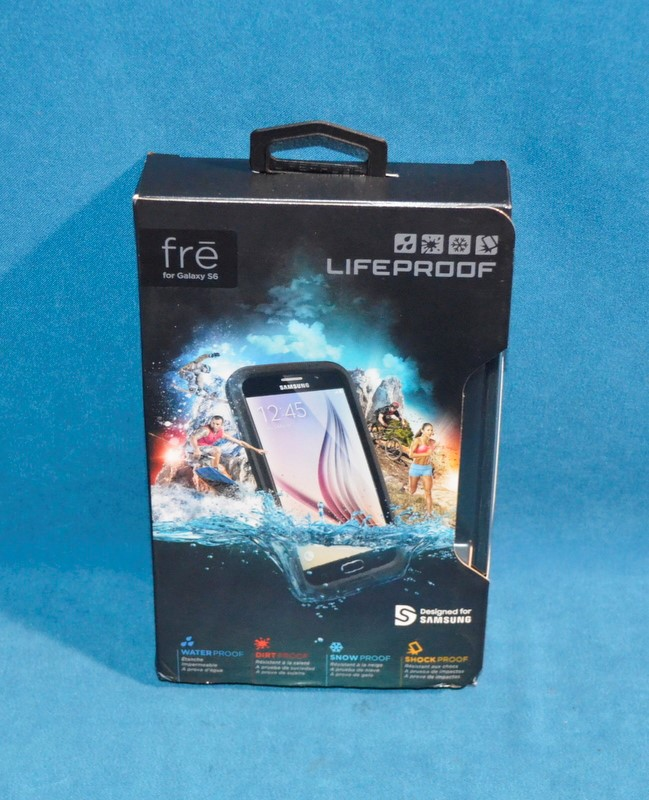 LIFEPROOF FRE FOR GALAXY S6 CELL PHONE CASE