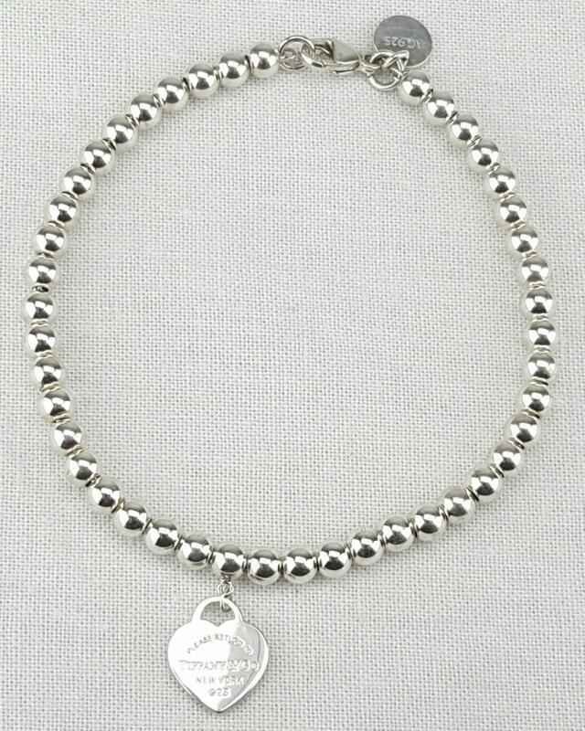 Tiffany & Co. Silver Bracelet 925 Silver 5.6g