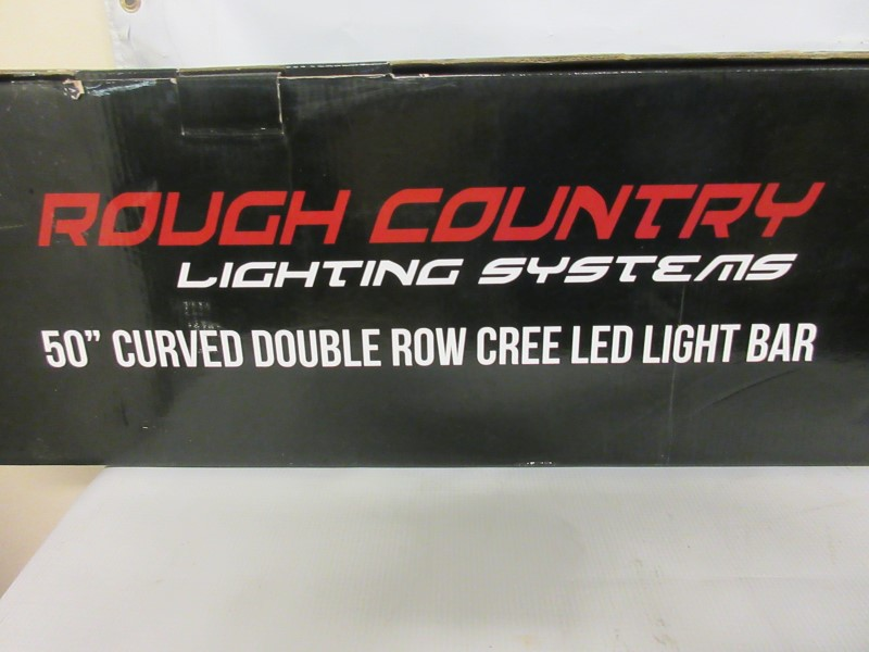 """ROUGH COUNTRY 50"""" Curved LED Light Bar 72950"""