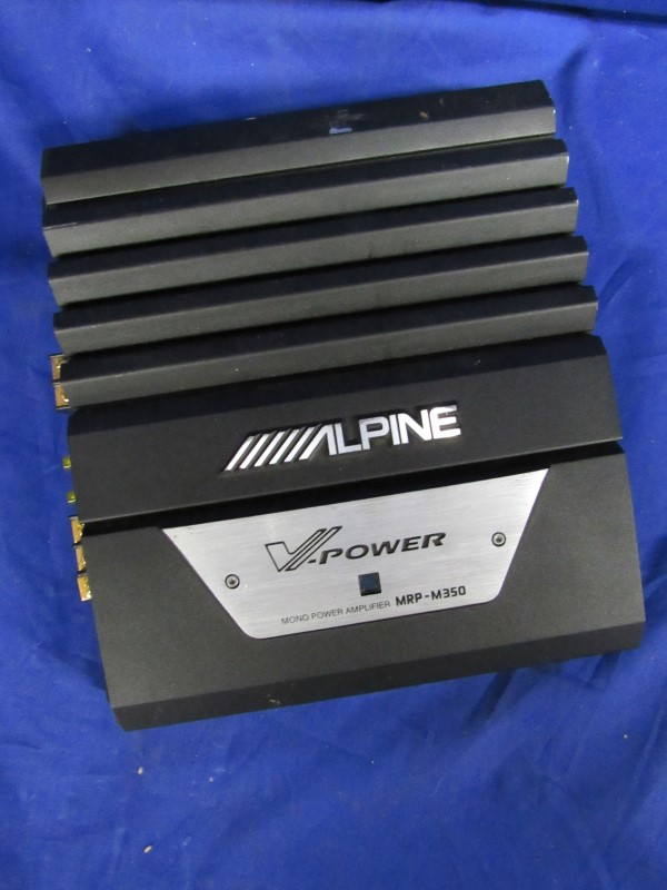 ALPINE CAR AMP MRP-M350