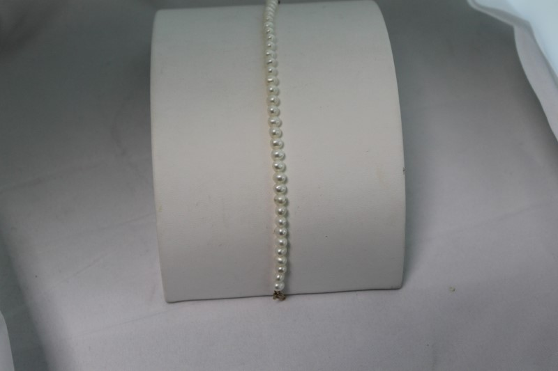 Freshwater Pearl Yellow Gold Bracelet YG